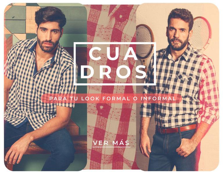 Camisas a cuadros para hombres