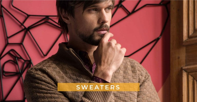 Los mejores sweaters para hombre en Camisería Inglesa