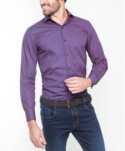 Camisa-Casual-Estampado-2203138425364-Morado-Puntos-Rojos_1
