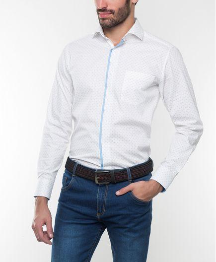 Camisa-Casual-Estampado-2203138000374-Blaco-Punto-Rojo_1