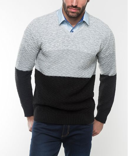Sweater-CuelloV-1603038084034-Gris-Negro_1