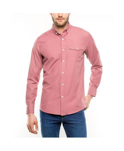 Camisa-Sport-Unicolor-Tres-Versiones-Rojo-Talla-M