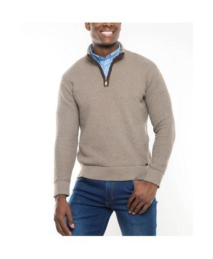 Sweater-Cairo-con-Cuello-Cremallera-Beige-Talla-XL