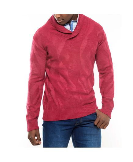 Sweater-Relieve-Geometricos-Cuello-Smoking-Vinotinto-Talla-XL