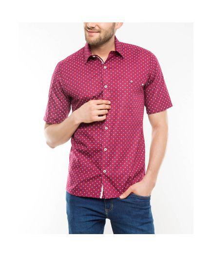 Camisa-Sport-Estampado-Flores