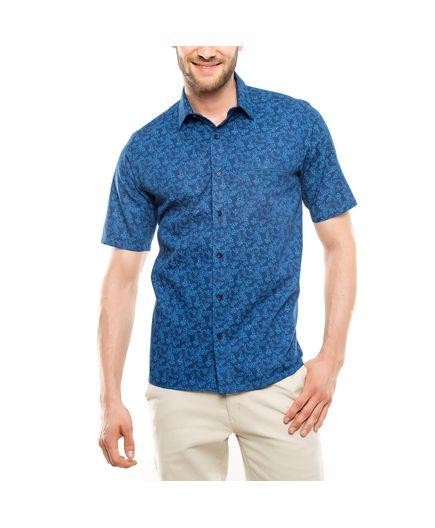 Camisa-Sport-Estampado-de-Flores