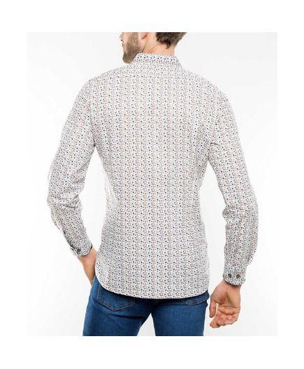 Camisa-Sport-Estampado-Celulas