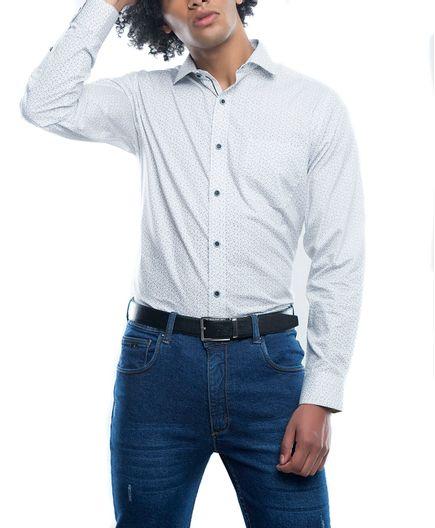 Camisa-Casual-Estampado-Cube