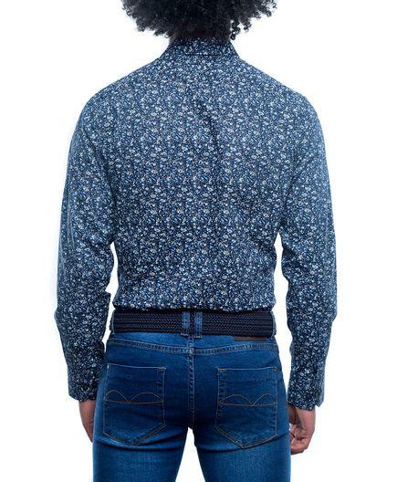 Camisa-Casual-Estampado-Hibiscus