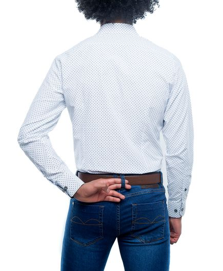 Camisa-Sport-Estampado-Vector
