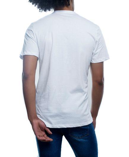 T-Shirt-Cuello-V-Blanca