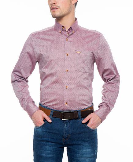 camisa-casual-manga-larga-dobby-11676-vinotinto-textura-1