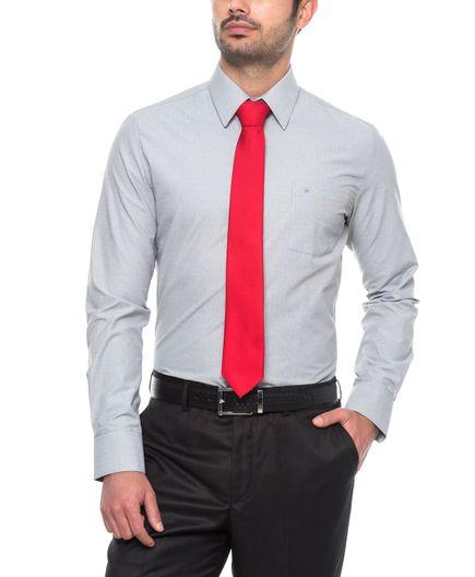 Camisa-Corbata-Dobby