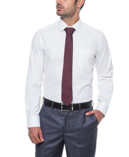 Camisa-Formal-Blanca-Dobby