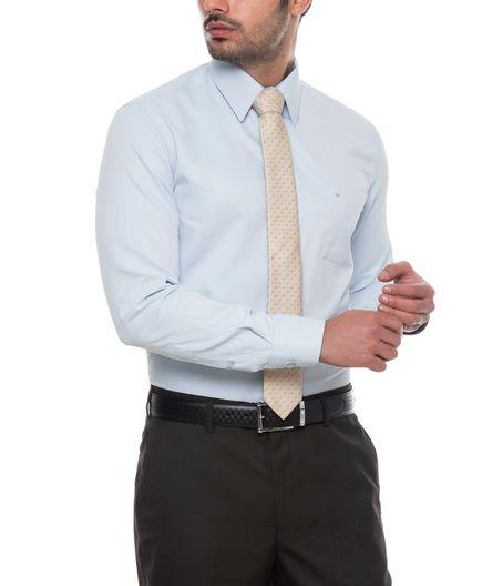 Camisa-Corbata-Unicolor