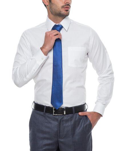 Camisa-Corbata-Blanca-Dobby-100--Algodon