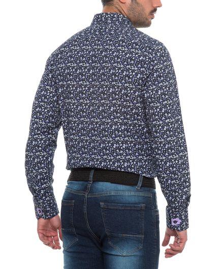 Camisa-Casual-Estampada-Flores
