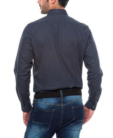 Camisa-Casual-Puntos-100--Algodon
