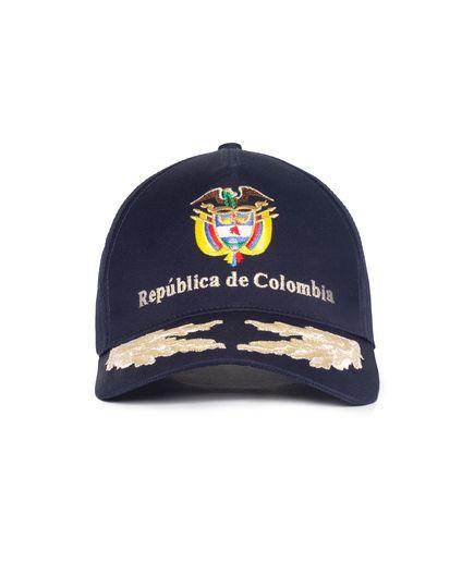 Gorra-Republica-de-Colombia-Paño-Hilo-Plata