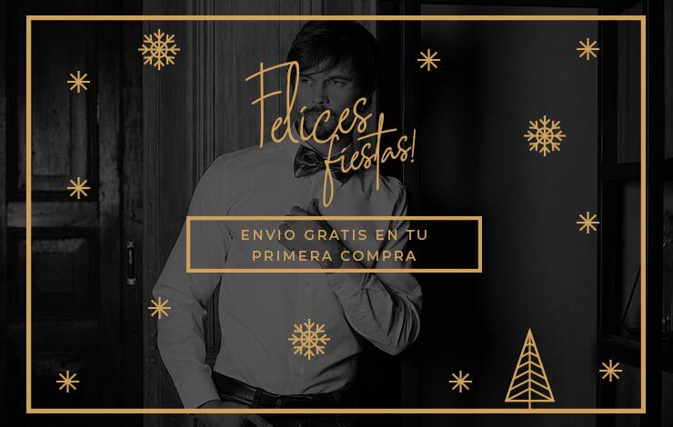 Felices Fiestas te desea Camisería Inglesa - Envío Gratuito en tu primera compra